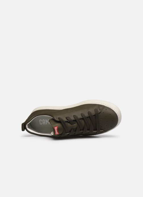 Sneakers Camper Runner Four A Verde immagine sinistra