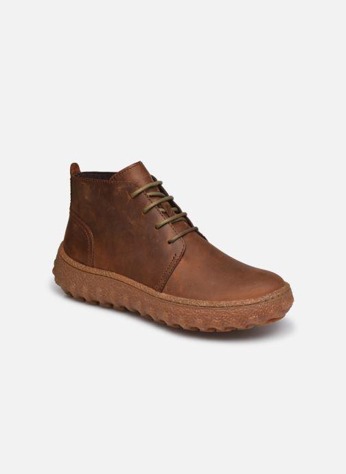 Snøresko Camper Ground Brun detaljeret billede af skoene