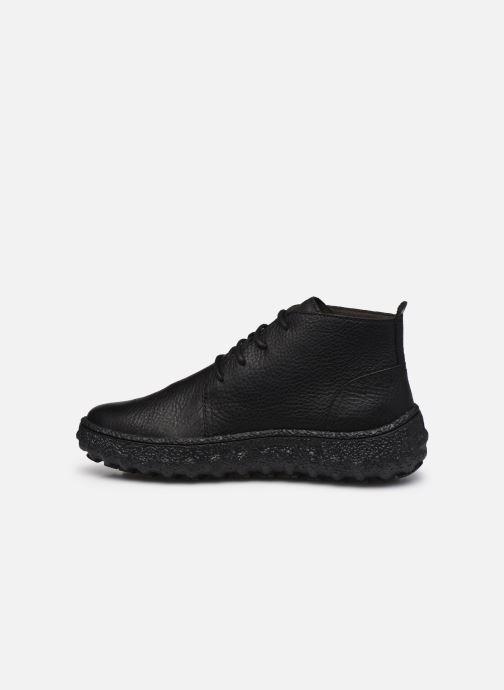 Zapatos con cordones Camper Ground Negro vista de frente