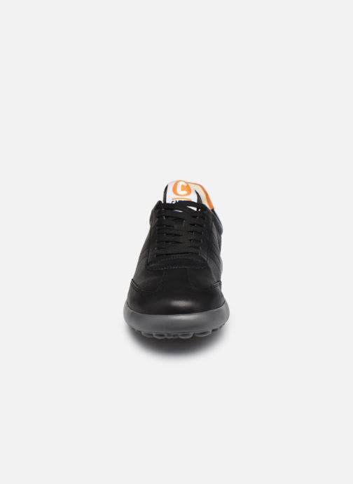 Sneaker Camper Pelotas XL Fiesta schwarz schuhe getragen