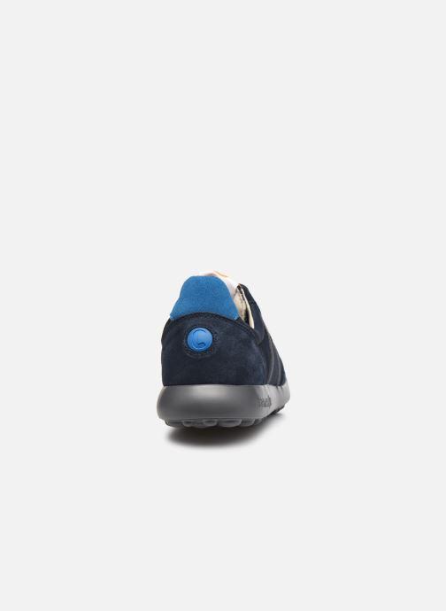 Baskets Camper Pelotas XL Fiesta Bleu vue droite