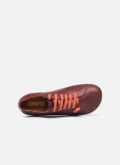 Sneaker Camper Peu Cami Low braun ansicht von links