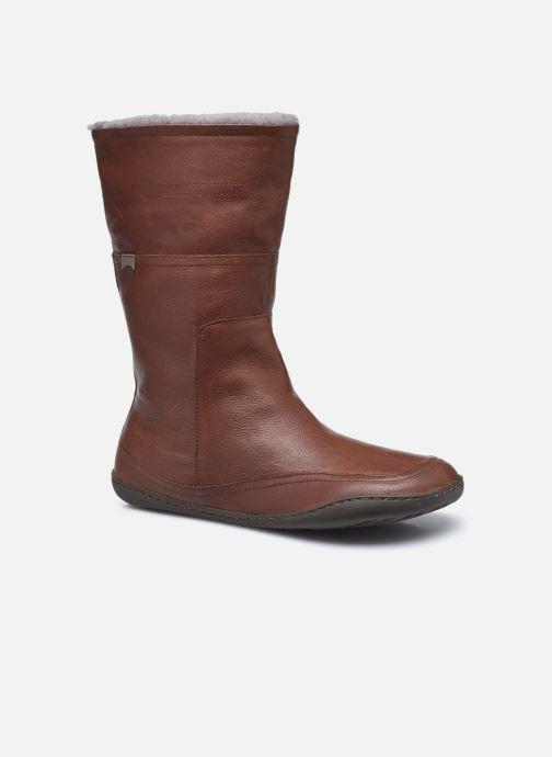 Bottes Camper Peu Cami Boots Marron vue détail/paire