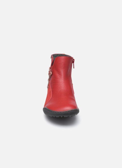 Bottines et boots Camper Peu Cami High Noa R Rouge vue portées chaussures