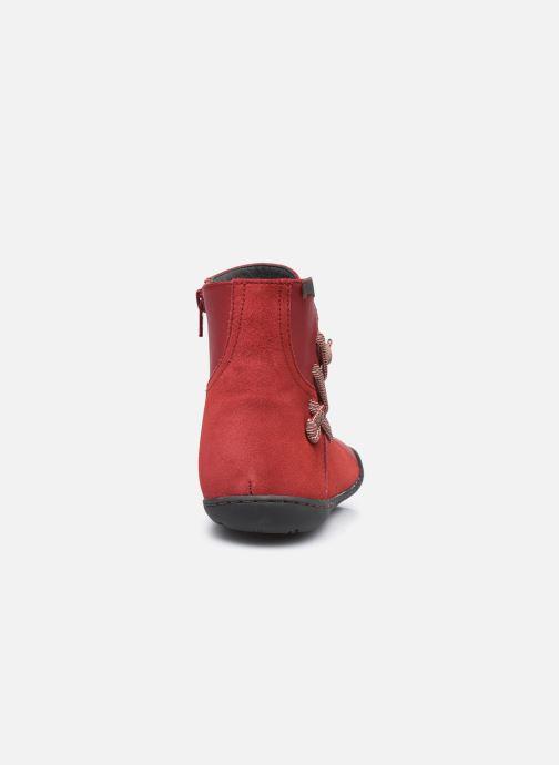 Bottines et boots Camper Peu Cami High Noa R Rouge vue droite