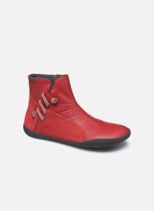 Bottines et boots Camper Peu Cami High Noa R Rouge vue détail/paire