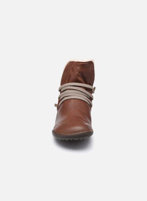 Bottines et boots Camper Peu Cami High 2 Marron vue portées chaussures