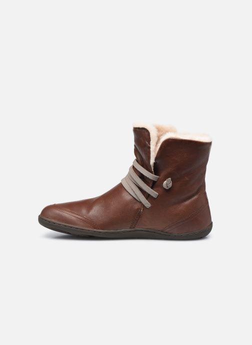 Bottines et boots Camper Peu Cami High 2 Marron vue face