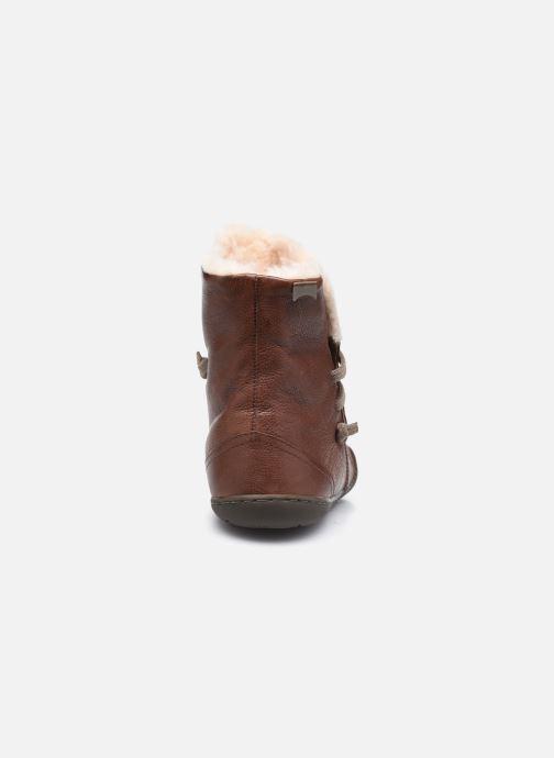 Bottines et boots Camper Peu Cami High 2 Marron vue droite