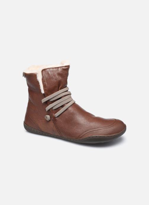 Bottines et boots Camper Peu Cami High 2 Marron vue détail/paire