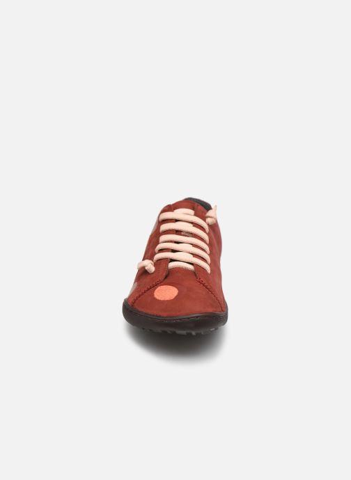 Sneakers Camper Twins Simple Brun se skoene på