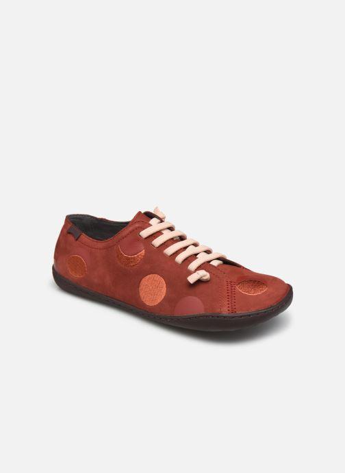 Sneakers Camper Twins Simple Brun detaljeret billede af skoene
