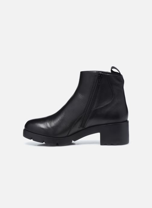 Botines  Camper Wanda Boots Negro vista de frente