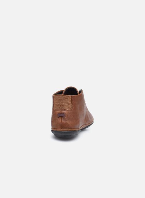 Chaussures à lacets Camper Right Nina Derby Marron vue droite