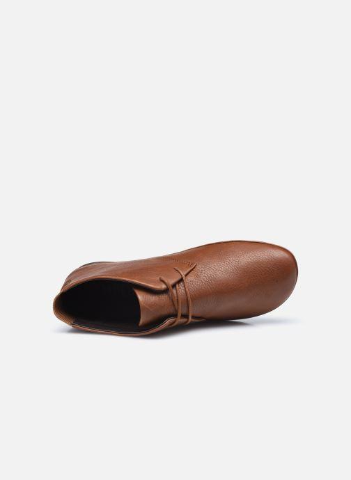 Zapatos con cordones Camper Right Nina Derby Marrón vista lateral izquierda