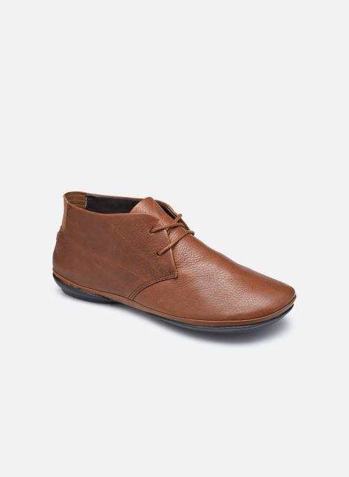 Chaussures à lacets Camper Right Nina Derby Marron vue détail/paire