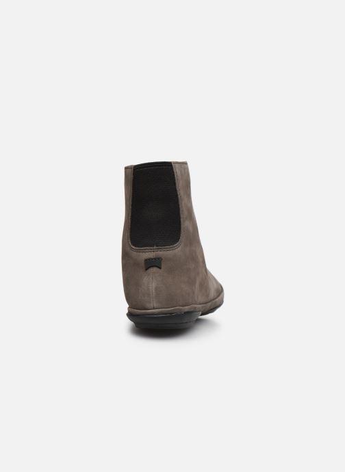 Bottines et boots Camper Right Nina Boots Gris vue droite