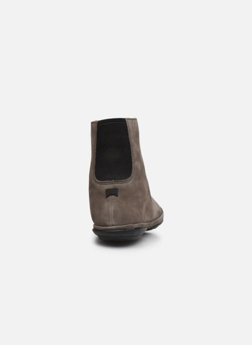 Botines  Camper Right Nina Boots Gris vista lateral derecha