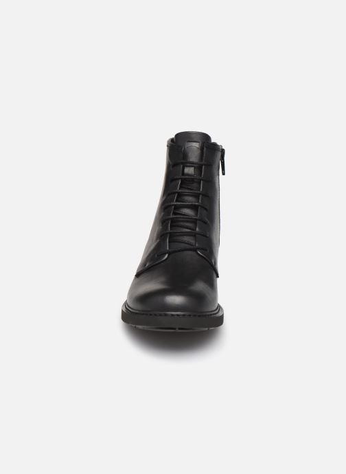 Bottines et boots Camper Neuman Bikers Noir vue portées chaussures