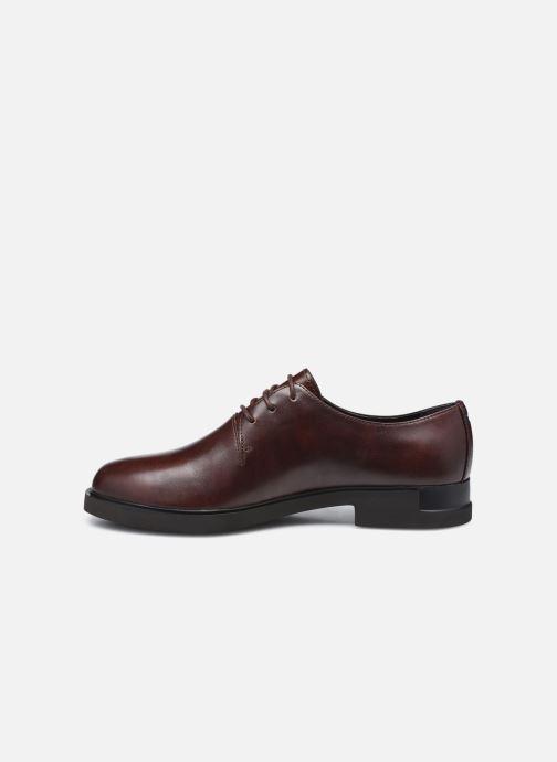 Chaussures à lacets Camper Iman Derby Marron vue face