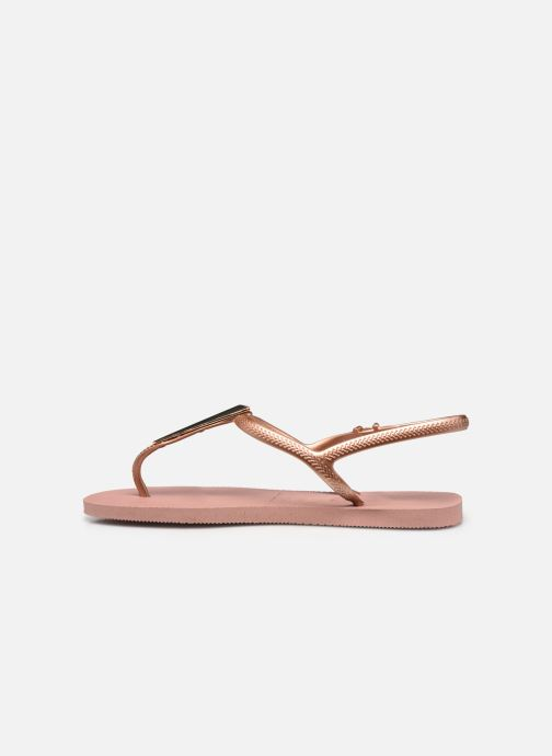 Sandali e scarpe aperte Havaianas Freedom Maxi Rosa immagine frontale