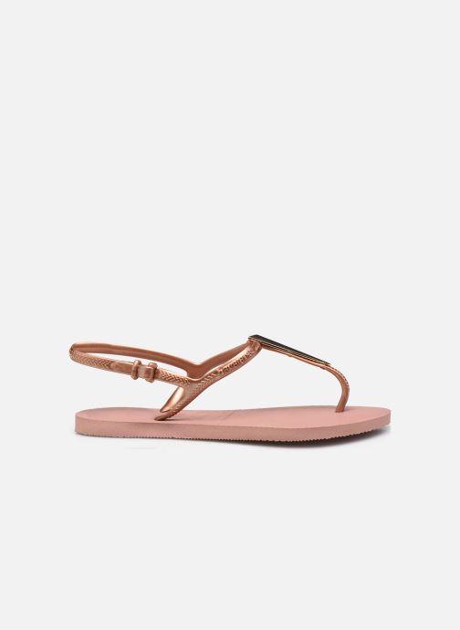 Sandali e scarpe aperte Havaianas Freedom Maxi Rosa immagine posteriore