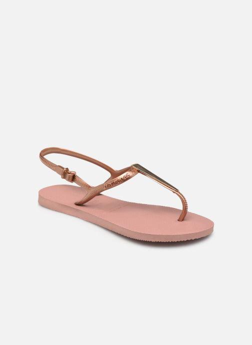 Sandaler Havaianas Freedom Maxi Pink detaljeret billede af skoene