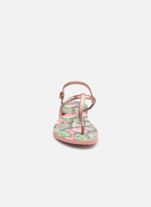 Sandales et nu-pieds Havaianas Freedom Print Multicolore vue portées chaussures
