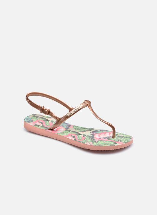 Sandales et nu-pieds Havaianas Freedom Print Multicolore vue détail/paire