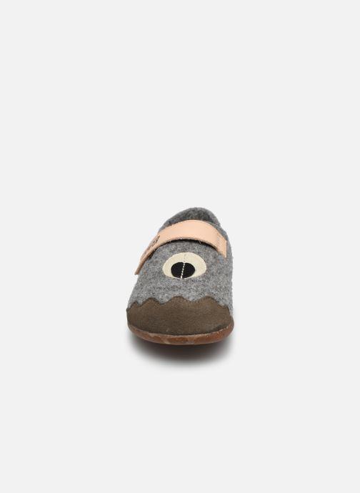 Chaussons Camper Wabi Twins Gris vue portées chaussures
