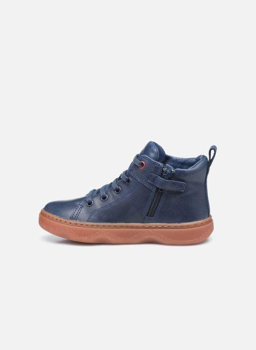 Sneaker Camper Kiddo Kids blau ansicht von vorne
