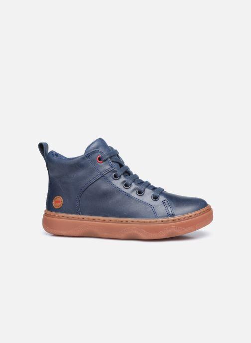 Sneaker Camper Kiddo Kids blau ansicht von hinten