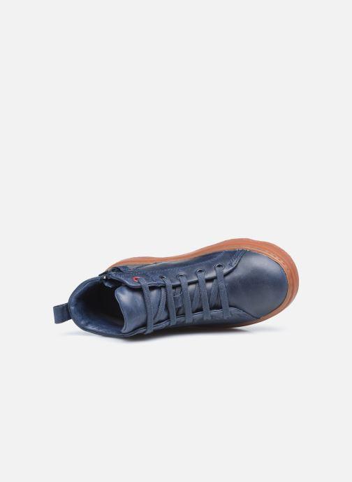 Sneakers Camper Kiddo Kids Blauw links