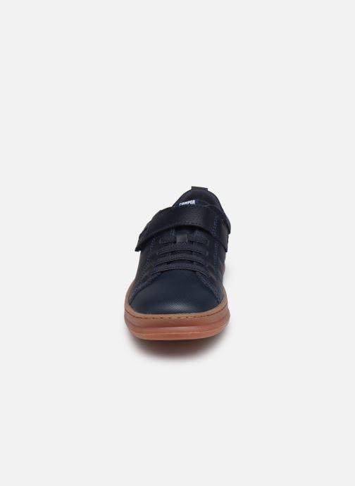 Baskets Camper Runner Kids Bleu vue portées chaussures