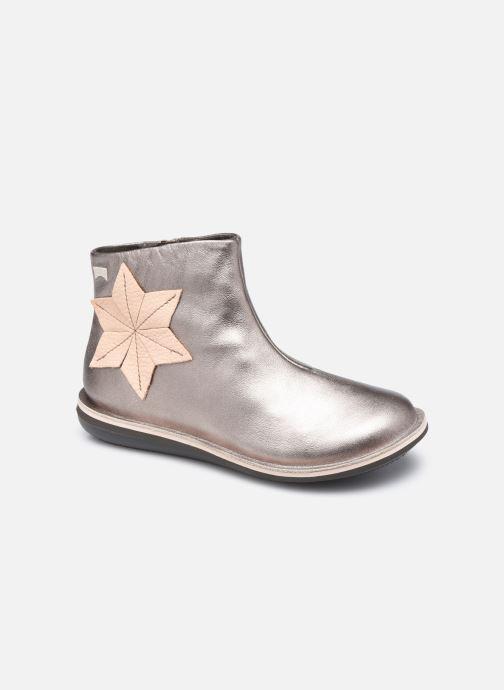 Bottines et boots Camper Bettle Twins Rose vue détail/paire