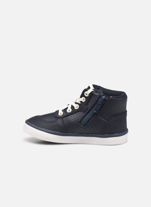Baskets Clarks City Flake T Bleu vue face