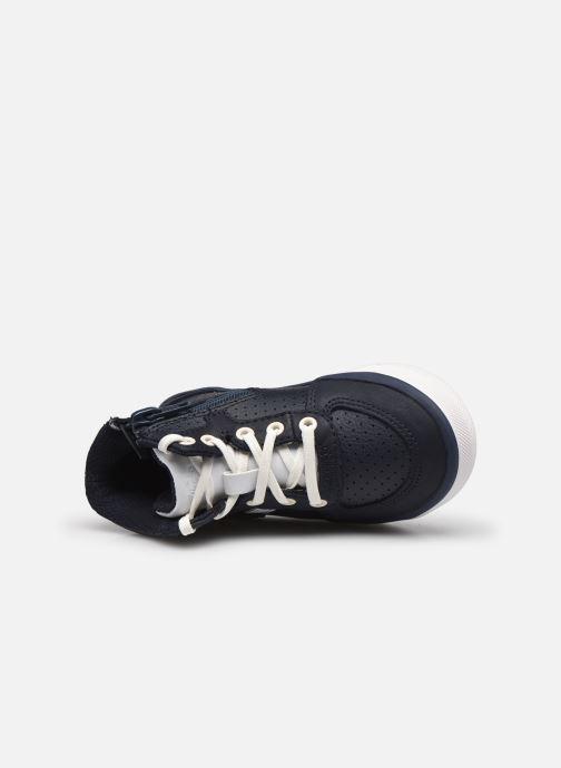 Sneaker Clarks City Flake T blau ansicht von links