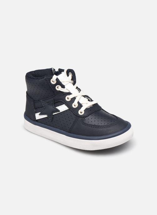 Sneaker Clarks City Flake T blau detaillierte ansicht/modell