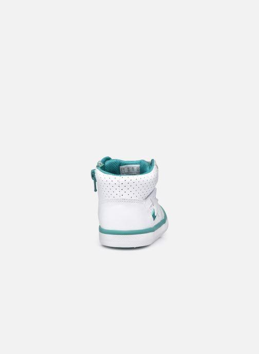 Sneaker Clarks City Flake T weiß ansicht von rechts