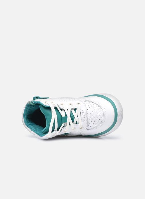 Sneaker Clarks City Flake T weiß ansicht von links
