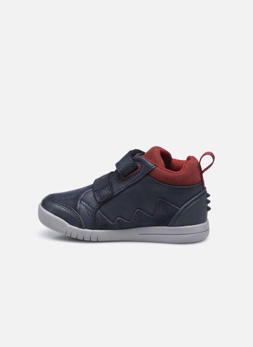 Sneakers Clarks Rex Park T Azzurro immagine frontale