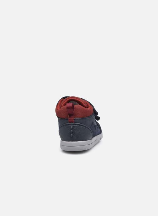 Sneakers Clarks Rex Park T Azzurro immagine destra