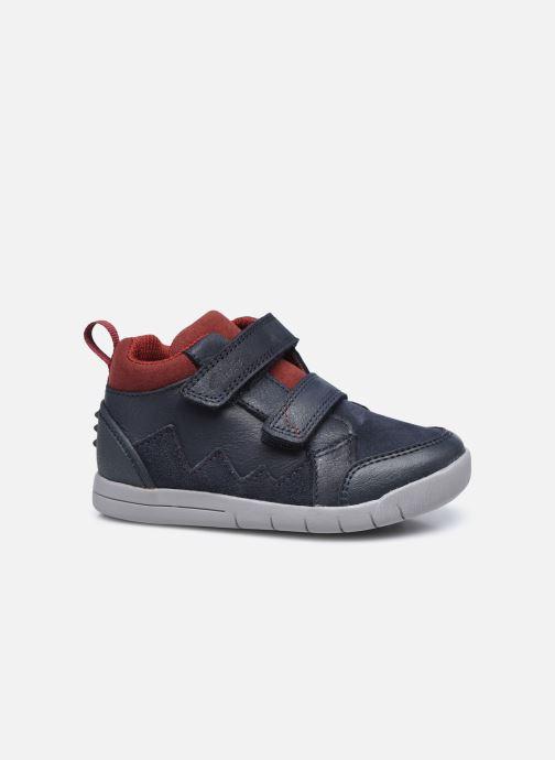 Sneakers Clarks Rex Park T Azzurro immagine posteriore