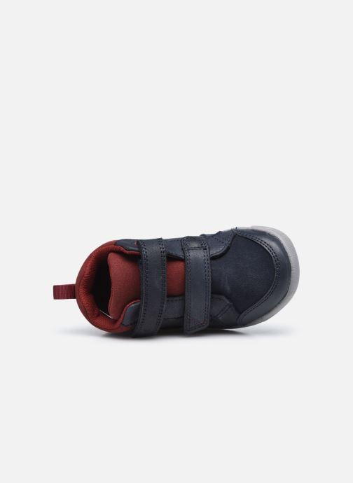 Sneakers Clarks Rex Park T Azzurro immagine sinistra