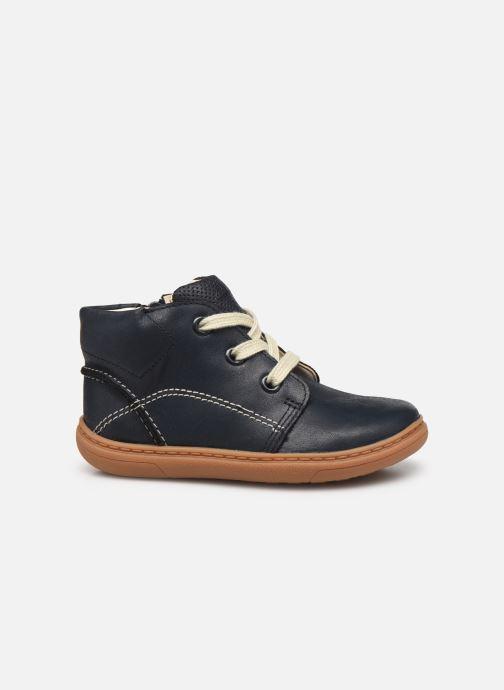Bottines et boots Clarks Flash Desert T Bleu vue derrière