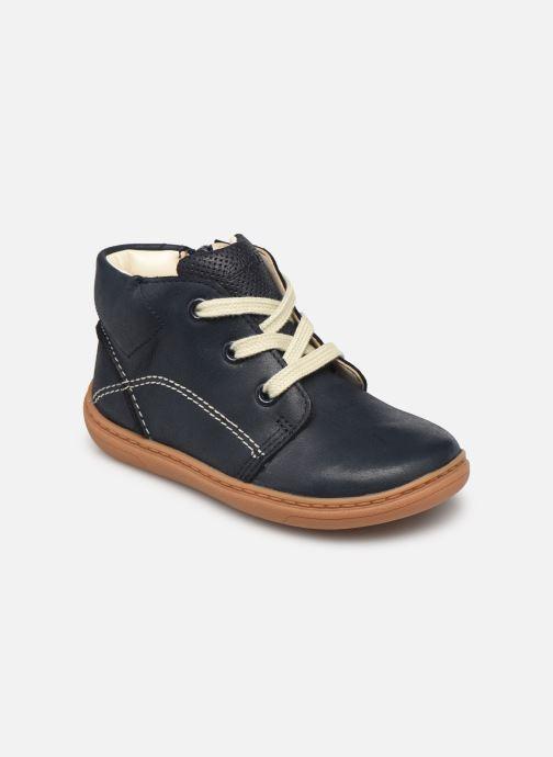 Bottines et boots Clarks Flash Desert T Bleu vue détail/paire