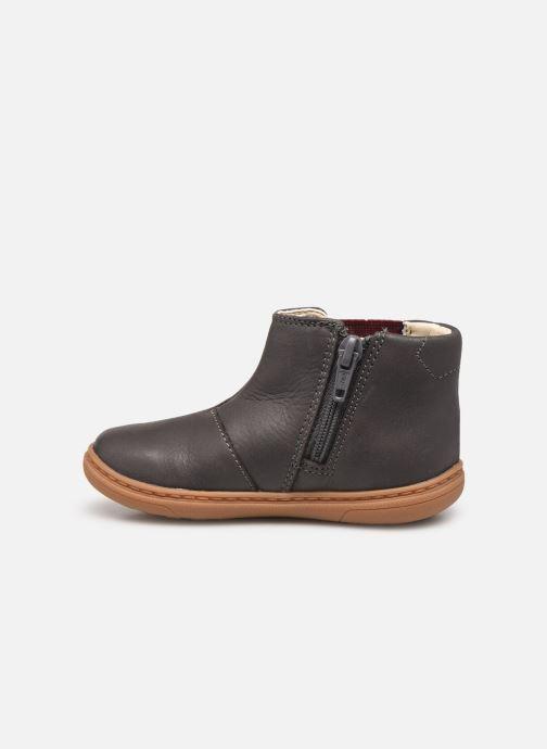 Bottines et boots Clarks Flash Sea T Gris vue face
