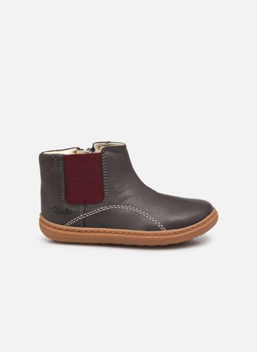 Bottines et boots Clarks Flash Sea T Gris vue derrière