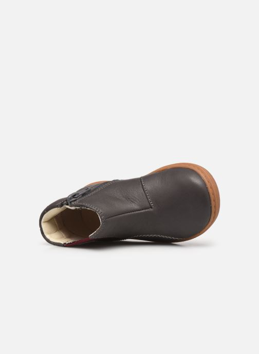 Bottines et boots Clarks Flash Sea T Gris vue gauche