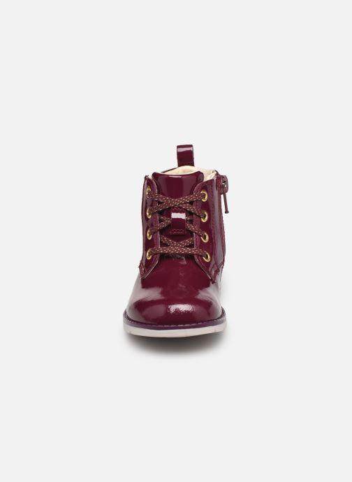 Stiefeletten & Boots Clarks Dabi Lace T weinrot schuhe getragen